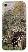 Behind The Garden IPhone Case by Tom Gari Gallery-Three-Photography