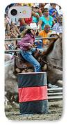 Being Clocked IPhone Case by Gary Keesler