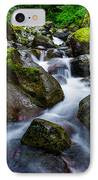 Below Rainier IPhone Case by Chad Dutson