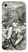 Beowulf Print IPhone Case by John Henry Frederick Bacon