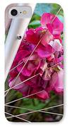 Bespoke Flower Arrangement IPhone Case by Rona Black