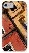 Beyoglu Old Houses 03 IPhone Case by Rick Piper Photography