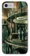 Biddy Mulligans Pub. Edinburgh. Scotland IPhone Case by Jenny Rainbow