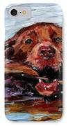 Big Stick IPhone Case by Molly Poole