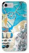 Bike Owl IPhone Case by Amy Sorrell
