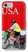Bike Usa IPhone Case