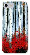 Birch 24 X 48  IPhone Case