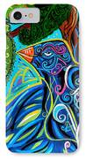 Bird Song IPhone Case by Genevieve Esson