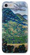 Birdseye Landscape #3 IPhone Case by Dale Beckman