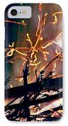 Birthed From Fire IPhone Case by Rory Sagner