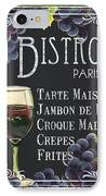 Bistro Paris IPhone Case by Debbie DeWitt