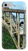 Bixby Creek Bridge Panorama IPhone Case by Benjamin Yeager