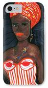 Black Diva IPhone Case by Don Koester