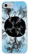 Black Earth Alone IPhone Case by Gianfranco Weiss