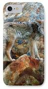 Blending In Nature IPhone Case by Karen Wiles