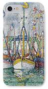 Blessing Of The Tuna Fleet At Groix IPhone Case