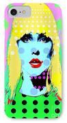 Blondie IPhone Case by Ricky Sencion