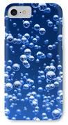 Blue Bubbles IPhone Case by Bruno Haver