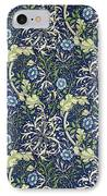 Blue Daisies Design IPhone Case by William Morris