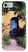 Blue Door At Old Mesilla IPhone Case