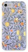 Blue Fruit IPhone Case by William Morris