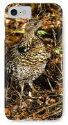 Blue Grouse IPhone Case