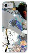 Blue Heron  IPhone Case by Don Wright