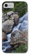 Blue Lake Falls IPhone Case by Michael J Bauer