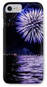 Blue Sparkle IPhone Case by Cindi Snow