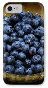 Blueberry Elegance IPhone Case by Andee Design