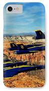 Blues Over Zion IPhone Case by Benjamin Yeager