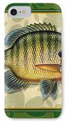 Blugill And Pads IPhone Case