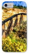 Boardwalk Steps IPhone Case by Anthony Citro