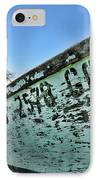 Boat - In A State Of Decay IPhone Case by Paul Ward