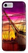 Boat - Sailing - Fleet Week IPhone Case by Mike Savad