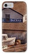 Boat - Tuckerton Seaport - Hotel Decrab  IPhone Case