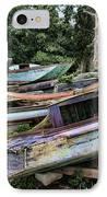 Boat Yard IPhone Case by Heather Applegate
