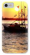 Boats In The Night IPhone Case