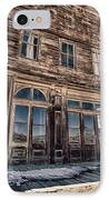 Bodie IPhone Case by Cat Connor