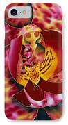 Bonnie Orchid IIi IPhone Case by Daniel Jean-Baptiste
