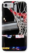 Boston Celtics' Basket IPhone Case