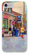 Boston Marathon Mile Twenty Two IPhone Case