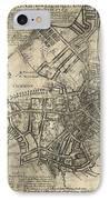 Boston Of British Dominion Map  1769 IPhone Case
