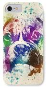 Boxer Splash IPhone Case