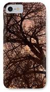 Branching Out At Sunset IPhone Case