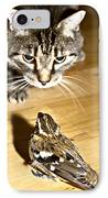 Brave Bird  IPhone Case by Susan Leggett
