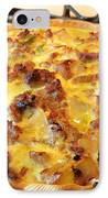 Breakfast Quiche IPhone Case by Kay Novy