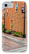 Brick Alley IPhone Case by Baywest Imaging
