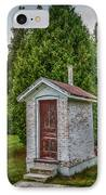 Brick Outhouse IPhone Case