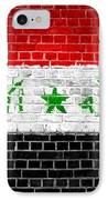 Brick Wall Iraq IPhone Case
